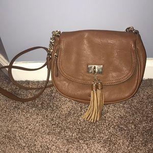 Charming Charlie Brown purse
